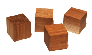 Acoustic Revive HQ-4 Natural Hickory Cube (4 pcs)