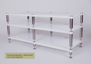 NEOSTYLE Audio Rack System - Double Quattron Glossy