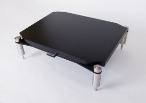 NEOSTYLE Quattron Reference - Shelf for Turntable 720 - Black Diamond